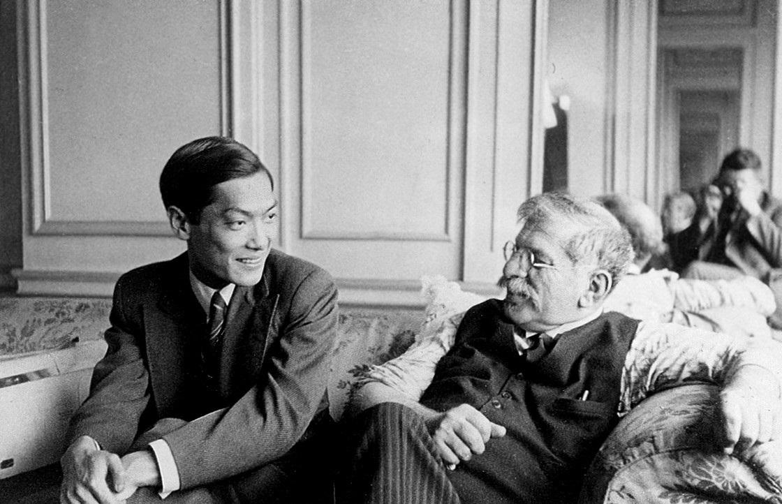 Magnus Hirschfeld mit seinem Lebensgefährte