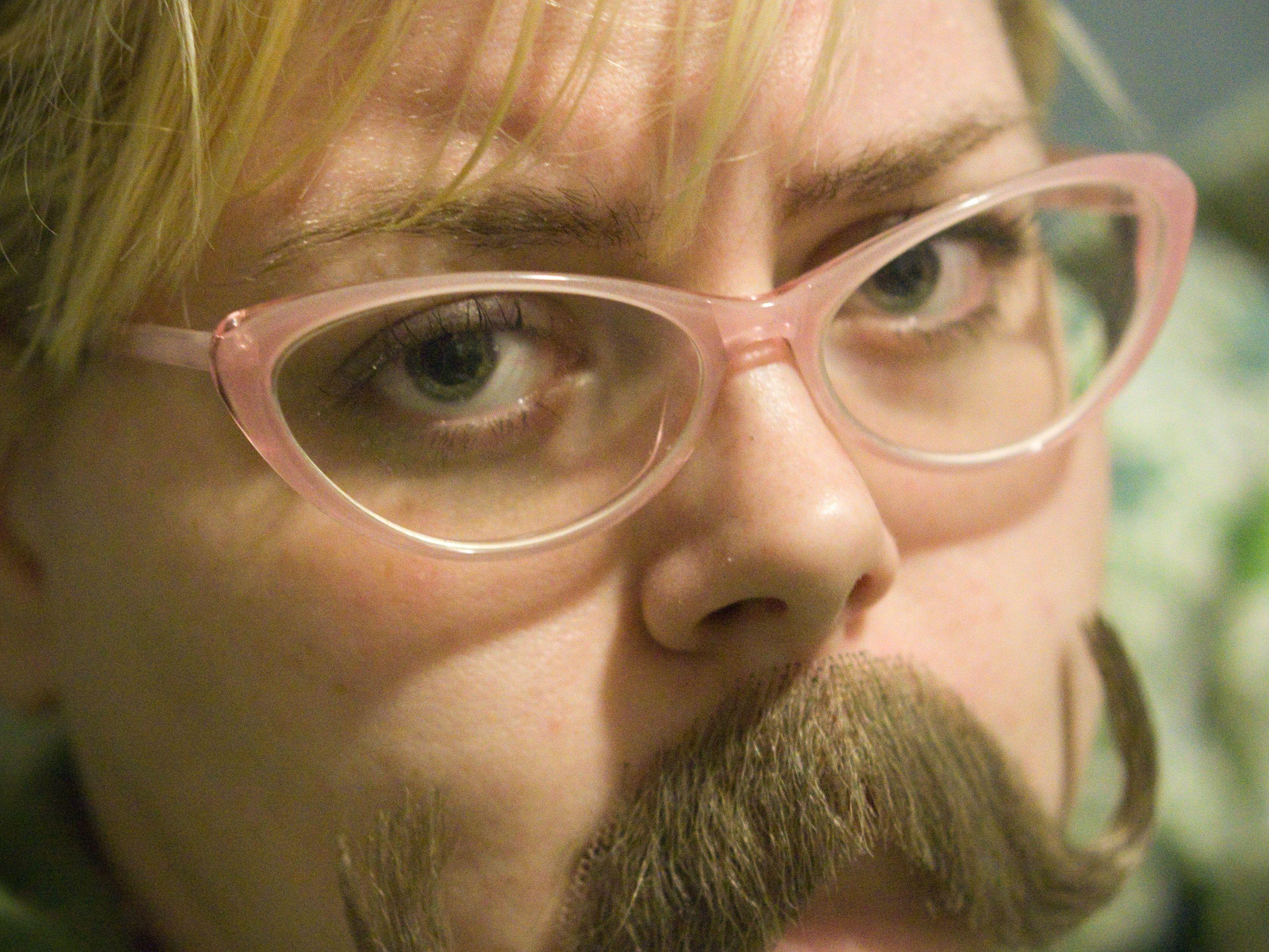 Lady Moustache